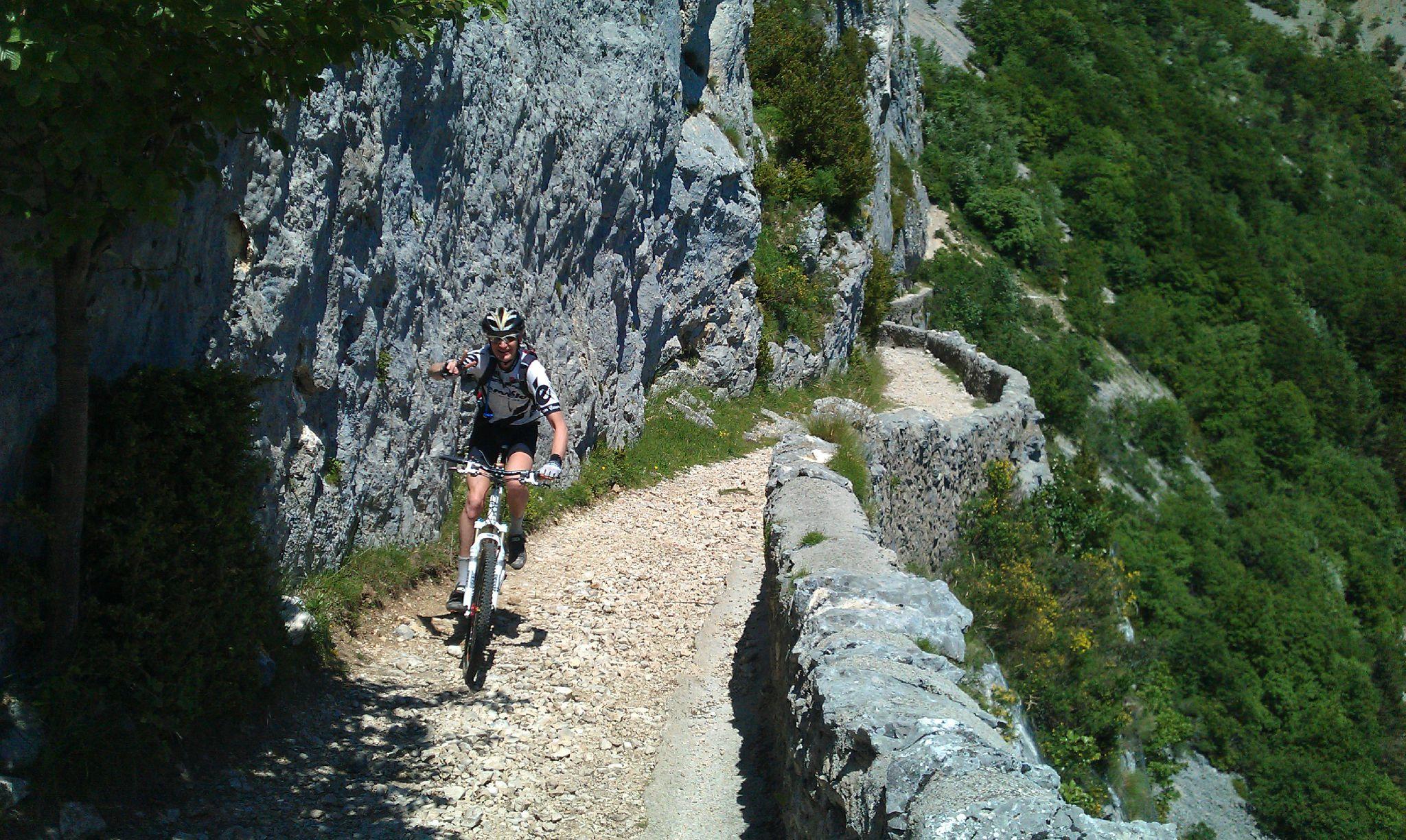 Randonnée à vélo en pays Diois